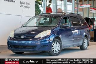 Used 2007 Toyota Sienna CE 7 PASS!! TEL QUEL! JAMAIS ACCIDENTE! for sale in Lachine, QC