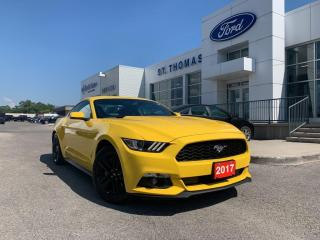 Used 2017 Ford Mustang EcoBoost Premium for sale in St Thomas, ON