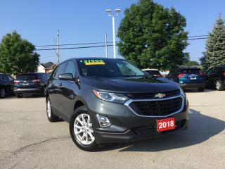 Used 2018 Chevrolet Equinox LT One Owner - Non Smoker for sale in Grimsby, ON