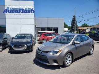 Used 2014 Toyota Corolla *LE *CAMERA *A/C *BLUETOOTH *SIÈGES-CHAUFFANTS for sale in St-Hubert, QC