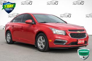 Used 2016 Chevrolet Cruze Limited 2LT ECONOMICAL COMMUTER CAR for sale in Innisfil, ON