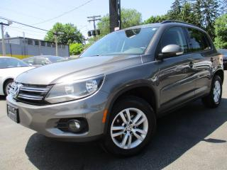 Used 2015 Volkswagen Tiguan 6 SPEED MANUAL|LOW KM| 3 YEARS WARRANTY AVAILABLE for sale in Burlington, ON