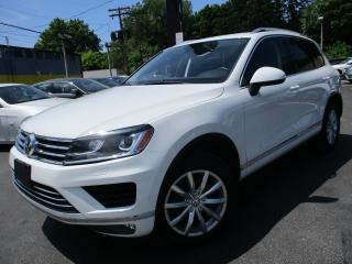 Used 2016 Volkswagen Touareg 3.6L V6|ONE OWNER|56KMS|LOW KMS|NAVI|LEATHER for sale in Burlington, ON