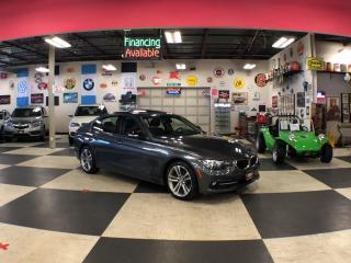 Used 2016 BMW 3 Series 320I X DRIVE SPORT PKG AUT0 P/SUNROOF BACKUP CAMERA for sale in North York, ON