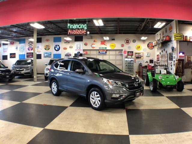 2016 Honda CR-V TOURING AWD AUT0 SUNROOF H/SEATS BACKUP CAMERA