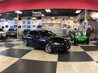 Used 2016 BMW 3 Series 320I X DRIVE SPORT PKG AUT0 NAVI P/SUNROOF P/SEAT CAMERA 97K for sale in North York, ON