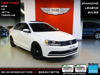 Used 2015 Volkswagen Jetta Sedan SUNROOF | CERTIFIED | FINANCE @ 4.65% for sale in Oakville, ON