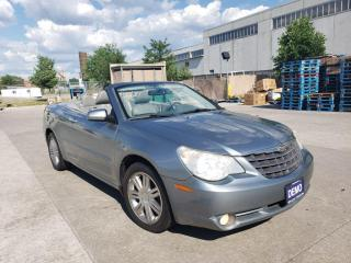 Used 2008 Chrysler Sebring Limited, Conver., Auto, Warranty available for sale in Toronto, ON