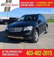 Used 2008 Mercedes-Benz M-Class 5.5L for sale in Calgary, AB