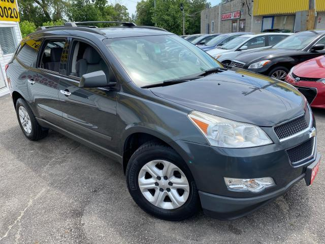 2011 Chevrolet Traverse LS/ DVD/ PWR GROUP/ 7 SEATER/ ROOF RACK/ LOADED!