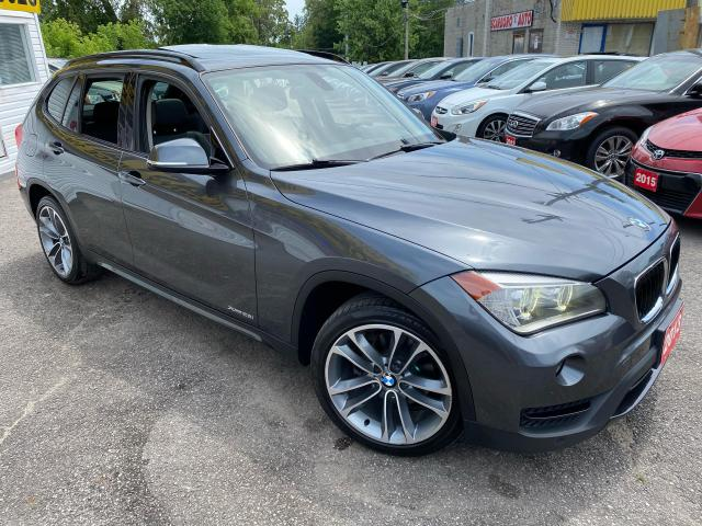 2013 BMW X1 AWD/ NAVI/ CAM/ PANO ROOF/ LEATHER/ ALLOYS/ TINTED