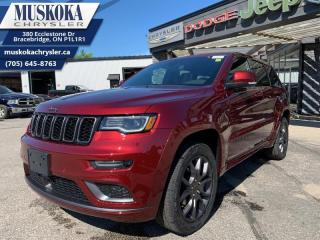 New 2020 Jeep Grand Cherokee High Altitude  - Leather Seats for sale in Bracebridge, ON