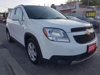 Used 2012 Chevrolet Orlando 1LT-MINT CONDITION-ONLY 86K-7 SEATS-BLUETOOTH-AUX for sale in Scarborough, ON