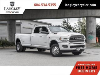 New 2020 RAM 3500 Laramie  - Leather Seats for sale in Surrey, BC