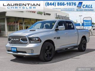Used 2018 RAM 1500 Sport!!  COOLED SEATS!!  4WD!!  LEATHER!! for sale in Sudbury, ON