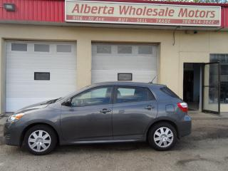 Used 2012 Toyota Matrix BASE for sale in Edmonton, AB