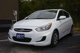 Used 2017 Hyundai Accent GL 4D Hatchback ACCENT GL | ONE OWNER | CLEAN CARFAX | TEST DRIVE AVAILABLT for sale in Burlington, ON