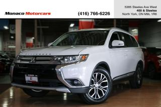 Used 2016 Mitsubishi Outlander ES AWC - LEATHER|SUNROOF|BACKUP CAMERA|HEATED SEAT for sale in North York, ON