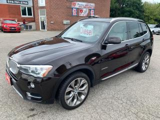 Used 2015 BMW X3 xDrive28d/Premium enhanced & Executive package/AWD for sale in Cambridge, ON