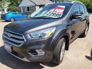 Used 2017 Ford Escape Titanium for sale in Pembroke, ON