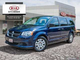 Used 2015 Dodge Grand Caravan SE / SXT - ONE OWNER for sale in Kitchener, ON