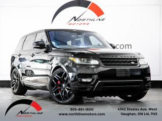 Used 2016 Land Rover Range Rover Sport V8 Supercharged Dynamic Navigation Autobiography Wheels Pano for sale in Vaughan, ON