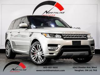 Used 2017 Land Rover Range Rover Sport HSE Dynamic|Navigation|Pano Roof|Camera for sale in Vaughan, ON