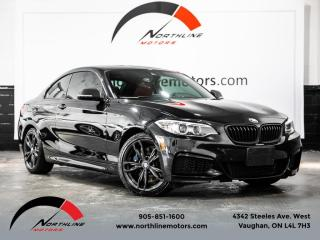 Used 2017 BMW 2 Series M240i xDrive|M-Sport|Navigation|Camera|Red Leather for sale in Vaughan, ON