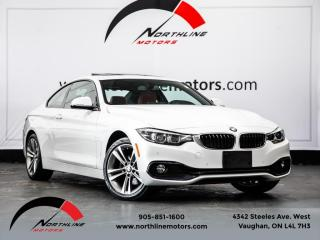 Used 2018 BMW 4 Series 430i xDrive Coupe|Navigation|Heads Up Disp|Red Leather for sale in Vaughan, ON