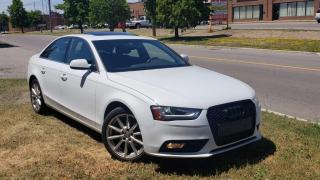Used 2014 Audi A4 4dr Sdn Auto Progressiv quattro for sale in Brampton, ON