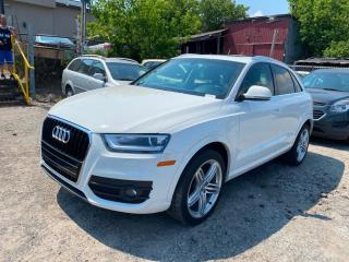 Used 2015 Audi Q3 2.0T Progressiv for sale in Scarborough, ON
