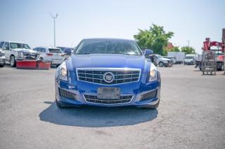 Used 2013 Cadillac ATS 2.0L Turbo Luxury LEATHER/SUNROOF/6 SPEED for sale in Concord, ON
