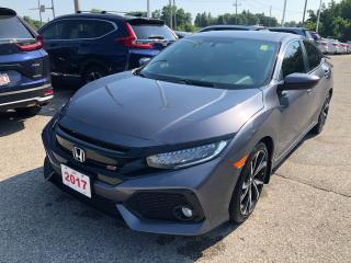 Used 2017 Honda Civic Si MANUAL TRANSMISSION | BLUETOOTH | REARVIEW CAMERA WITH GUIDELINES for sale in Cambridge, ON