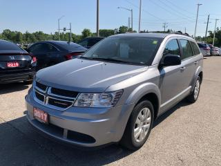 Used 2017 Dodge Journey CVP/SE ONE LOCAL OWNER | BLUETOOTH for sale in Cambridge, ON