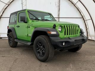 Used 2019 Jeep Wrangler Sport ONE OWNER, EXTRA LOW KM'S, MOJITO CLEAR COAT for sale in Ottawa, ON