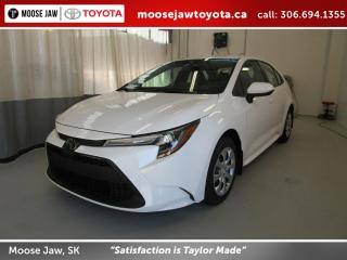 New 2020 Toyota Corolla LE CVT for sale in Moose Jaw, SK