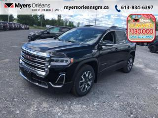 New 2020 GMC Acadia SLE  - Sunroof - Heated Seats for sale in Orleans, ON