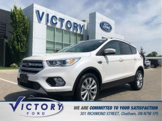 Used 2018 Ford Escape Titanium, Remote Start, Nav, Heated Seats for sale in Chatham, ON