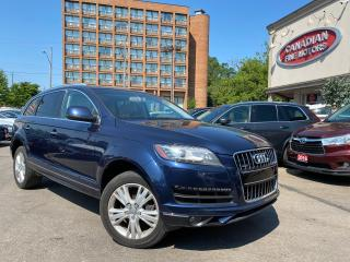 Used 2013 Audi Q7 CLEAN CARFAX | DISEL | PANO | 7 PASS | NAVI | CAM for sale in Scarborough, ON