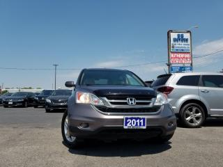 Used 2011 Honda CR-V EX-L LEATHER NO ACCIDENTS CLAN CARFAX for sale in Brampton, ON