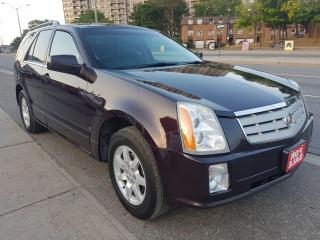 Used 2008 Cadillac SRX EXTRA CLEAN-PANORAMA ROOF-LEATHER-AUX-ALLOYS for sale in Scarborough, ON
