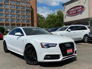 Used 2015 Audi A5 S-LINE PKG | PANO| QUATTRO | for sale in Scarborough, ON