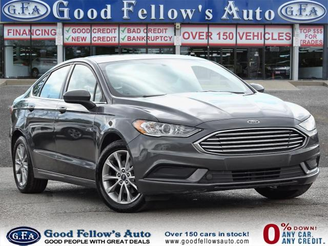 2017 Ford Fusion SE MODEL, 1.5L ECO, REARVIEW CAMERA, POWER SEATS