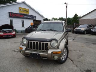 Used 2003 Jeep Liberty LIMITED for sale in Sarnia, ON