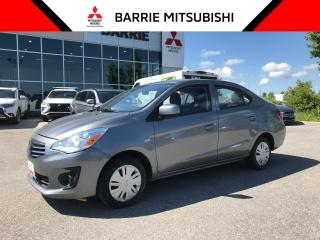 Used 2017 Mitsubishi Mirage ES G4 for sale in Barrie, ON