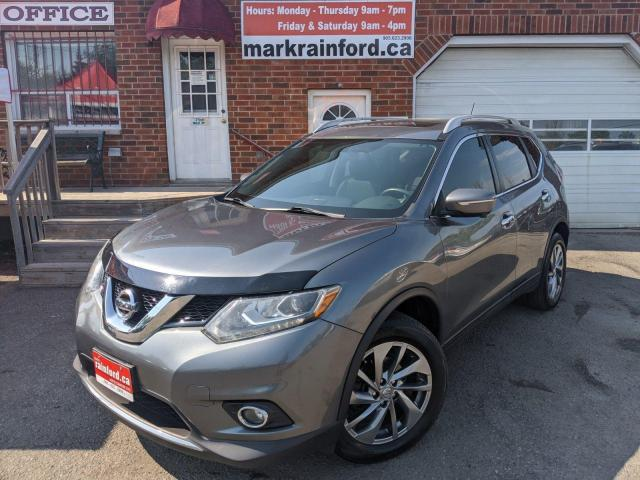 2015 Nissan Rogue SL AWD 2.5 Pano Roof Lthr Nav Back Up Cam Sky View