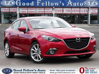 Used 2016 Mazda MAZDA3 GT MODEL, SKYACTIV, REARVIEW CAMERA, NAVIGATION for sale in Toronto, ON