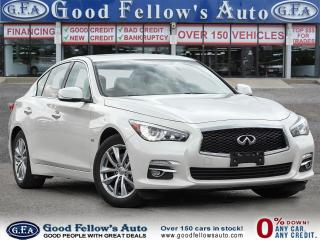 Used 2016 Infiniti Q50 AWD,POWER SEATS,MEMORY SEATS, NAVI, PARKING ASSIST for sale in Toronto, ON
