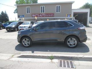 Used 2016 Ford Edge Titanium LEATHER! PANO ROOF! NAV! BACK-UP CAM for sale in Waterloo, ON