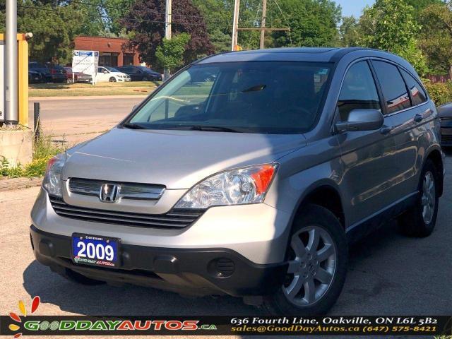 2009 Honda CR-V EX-L|LOW KM|NO ACCIDENT|SUNROOF|NAVI|AWD|B CAMERA